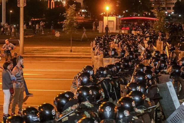 В Минске сообщили о задержании «координатора» беспорядков