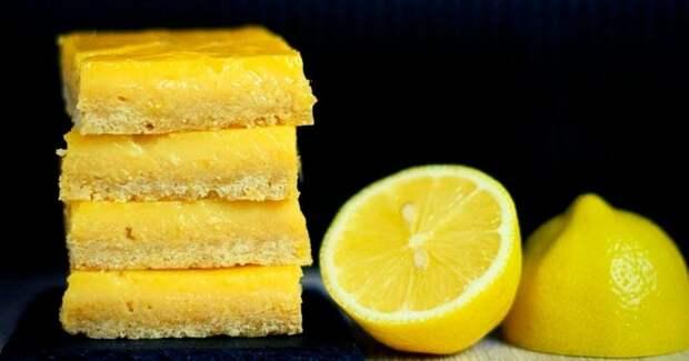 Лимонные пирожные — полезный и вкусный рецепт без сахара