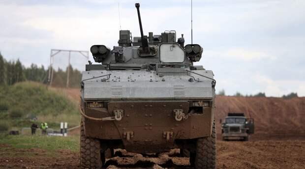«Бумеранг» повышенной огневой мощи: с какой целью в России создаётся колёсный танк.