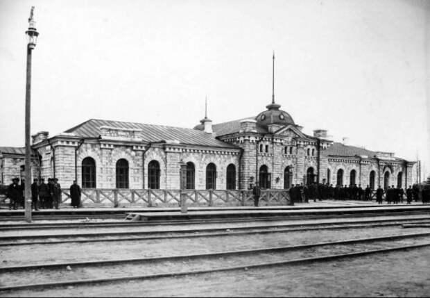 Странное «строительство» железной дороги