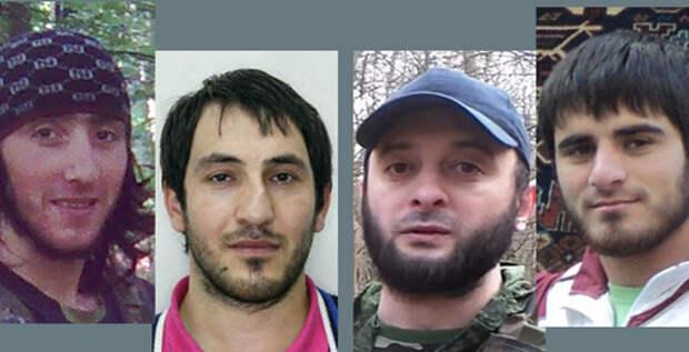 Четыре человека объявлены в розыск по делу об убийстве полицейских в Ингушетии