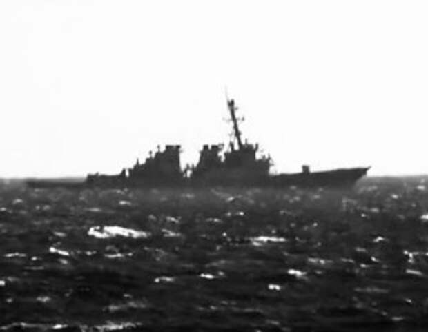 Утренний инцидент с американским эсминцем «Джон Маккейн», который нарушил границу на юге Приморского края.