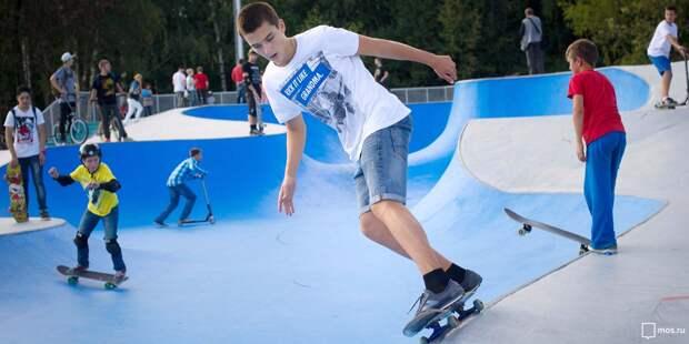 Скейт-парк, площадки для стритбола и Гонки героев появятся в Южном Медведкове