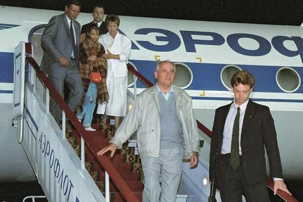 Горбачев участвовал в организации ГКЧП