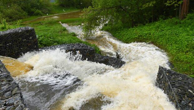 Жителей Подмосковья предупредили о паводках до 5 июня