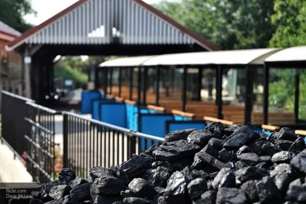 Запад требует от Украины прекращения добычи угля