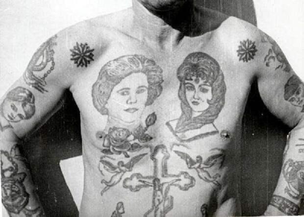 Вот почему в СССР зеки набивали на груди Ленина и Сталина!