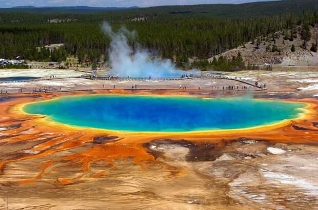 Извержение Йеллоустона создаст «зону мгновенной смерти»