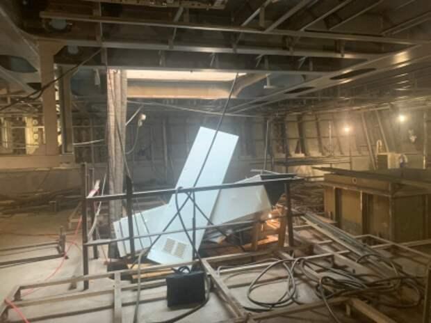 Рабочего «Северной верфи» госпитализировали после работ по спуску судна
