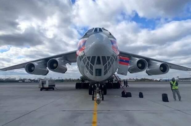 Второй борт МЧС РФ с гуманитарным грузом вылетел в Индию