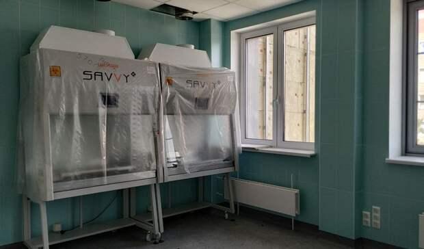 Новое оборудование устанавливают в волгоградском онкодиспансере