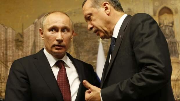 Эрдоган сам предложил Путину перейти на взаиморасчёты в национальных валютах