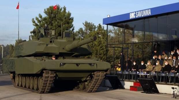 """В Турции показали гибрид двух танков: Leopard 2NG и """"Алтай"""""""
