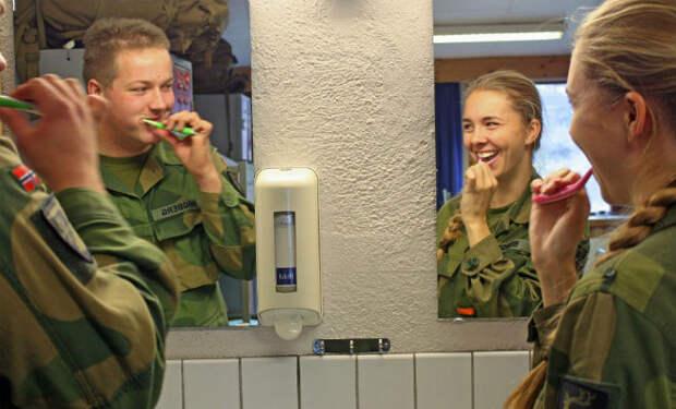 Как служат в армии Норвегии
