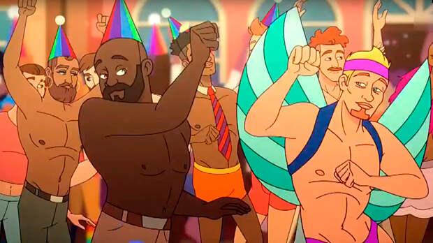Скриншот кадра видео мультфильма