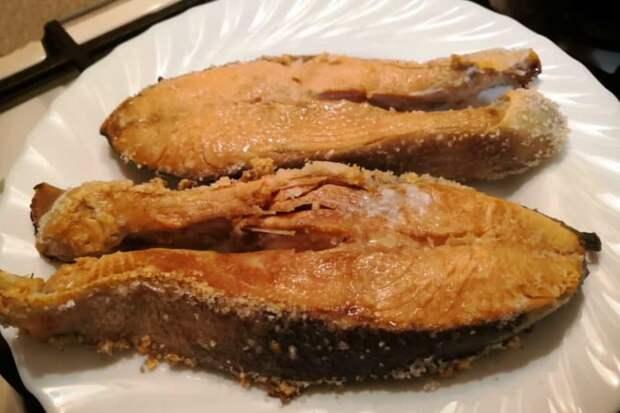 Жареная рыба без масла. Не теряет хрустящей корочки, которую обожает мой муж 2