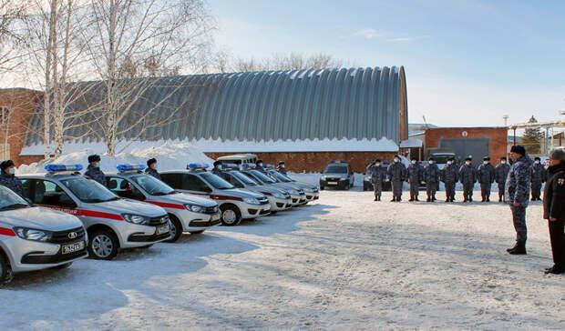 Управление Росгвардии по Оренбуржью оснастили новыми служебными авто