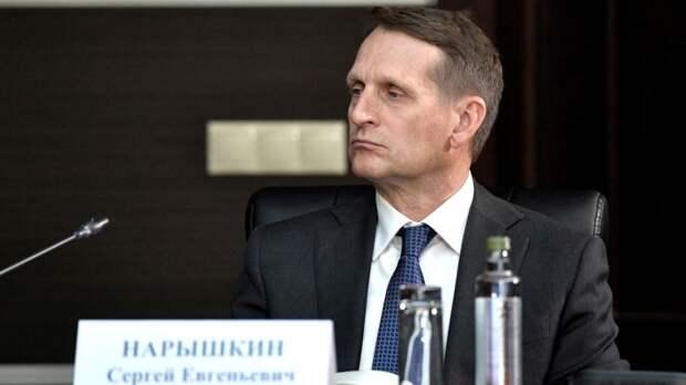 Нарышкин назвал дезинформацией заявления о «вмешательстве» РФ в выборы США