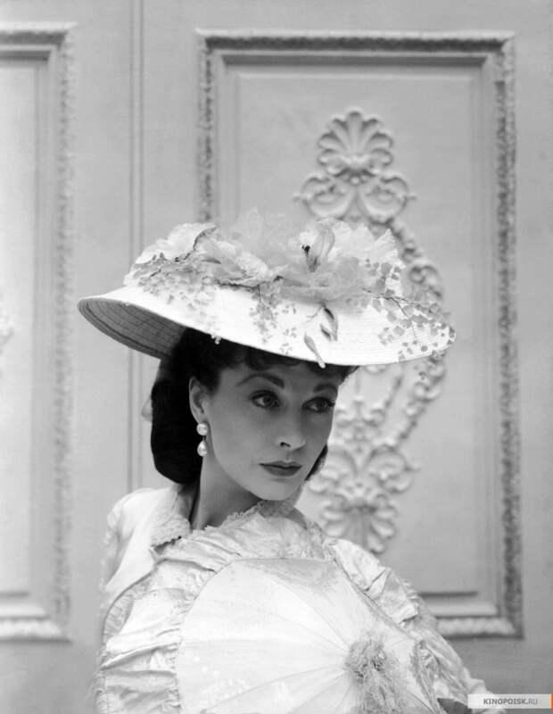 Вивьен Ли. Промо-фото к фильму «Анна Каренина», 1948 год.
