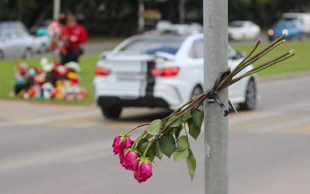 Полицейский сбил женщину и ребенка на переходе