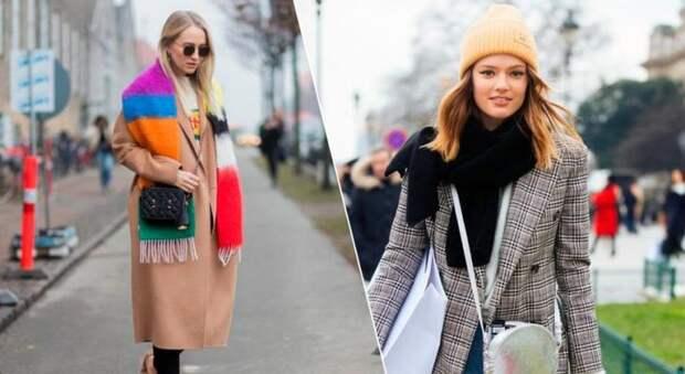 8 оригинальных способов носить шарф