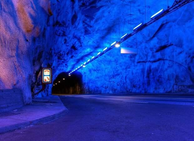 Самый длинный в мире тоннель