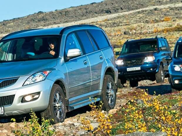 UAZ Patriot, Nissan Terrano и GW Hover H5: сделай СААМ! Ч. 2