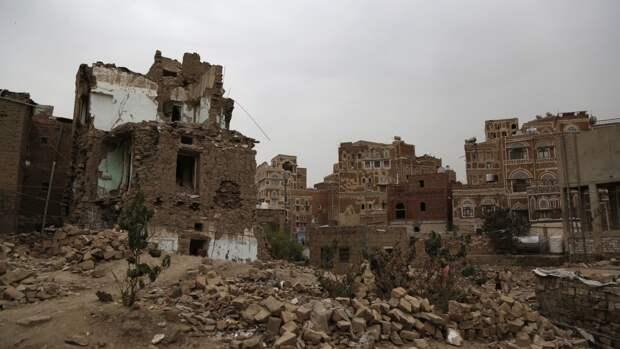 В центре йеменского города Мариб прогремел мощный взрыв