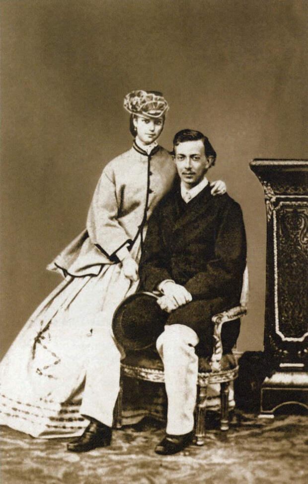 Принцесса Дагмара и цесаревич Николай