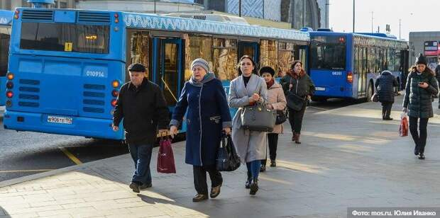 В Москве на время ограничений отменят льготный проезд школьникам и пенсионерам / Фото: Ю.Иванко, mos.ru