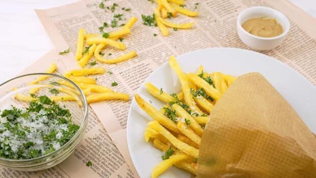 Частое употребление картофеля фри может вызвать развитие рака