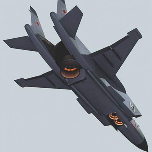 Як-141 как основа для нового самолёта вертикального взлёта