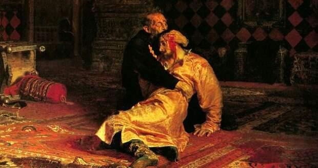 А убивал ли царь Иван Грозный своего сына?