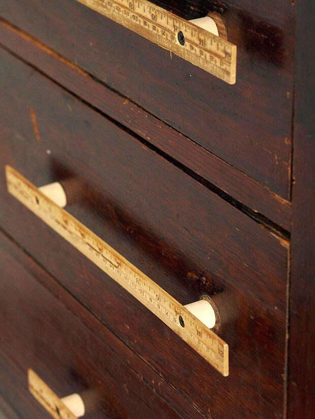 Оригинальные мебельные ручки из обычных вещей. ТОП 30 БД
