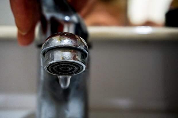 В понедельник часть Симферополя и пригорода останутся без воды