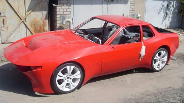 Вот что можно сделать из Porsche 924, если руки растут из того места