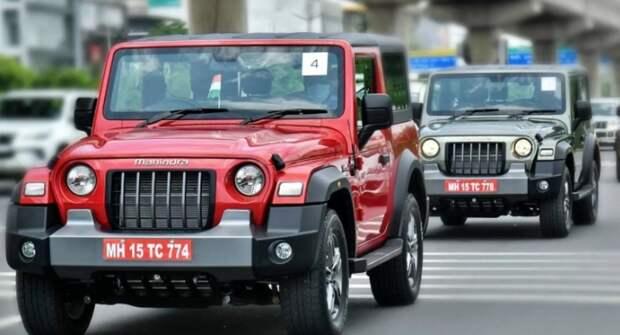 Jeep опять судится с Mahindra в Австралии из-за схожести внедорожников