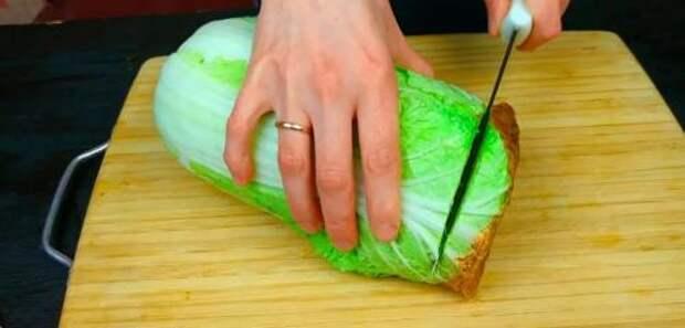 Рецепт вкуснейшего блюда из пекинской капусты: и гарнир, и закуска