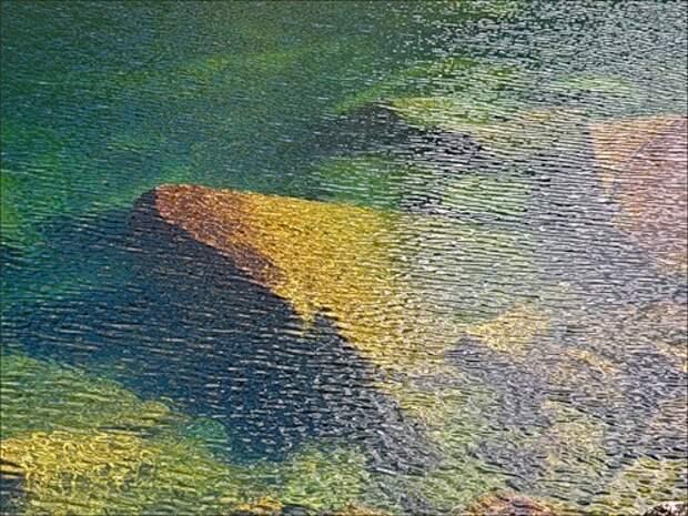 Прогулка к Цветным озёрам