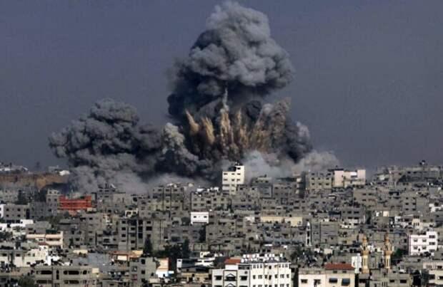 ВВС Израиля разбомбили в Газе офис турецкой организации