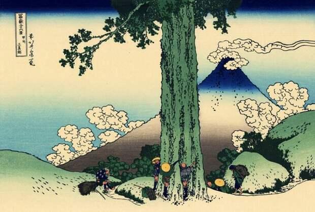 Мгновения изменчивого мира. 36 видов Фудзи Кацусика Хокусая - культовые гравюры, которые стоит увидеть
