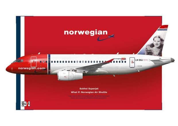 Зачем Norwegian нужны Superjet'ы и чем это вредит Аэрофлоту