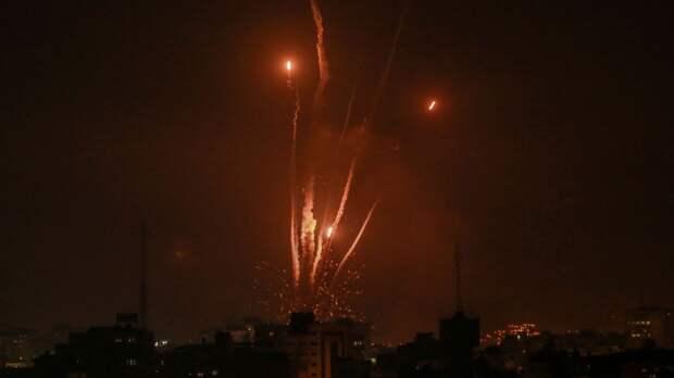 Израиль сообщает о возобновлении запусков ракет из сектора Газа