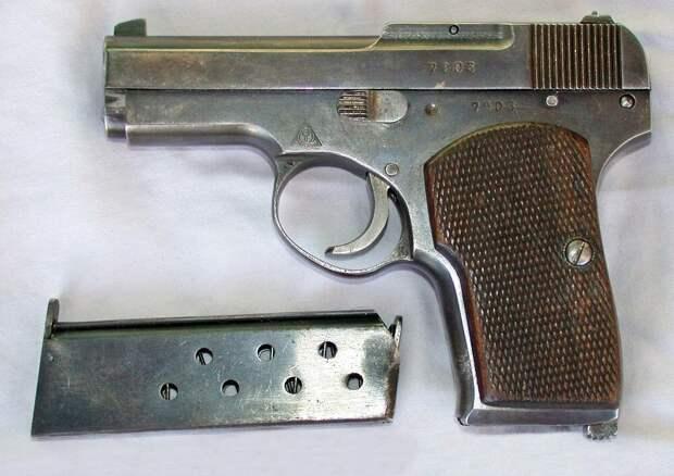 ТК: первый советский самозарядный пистолет.