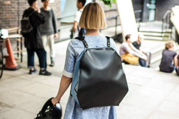 Надувная сумка защитит самое ценное