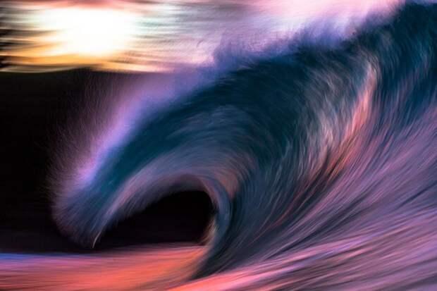 Ловец потрясающих волн: серия фотографий Matt Burgess