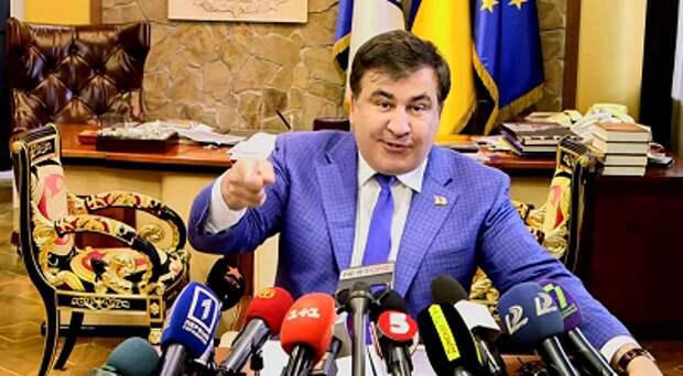 Саакашвили назвал Украину отстойником для преступников
