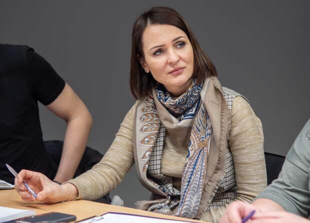 Татьяна Буцкая поддержала ветеранскую организацию Текстильщиков. Фото Даниил Пустовалов