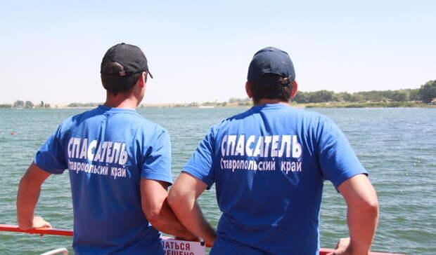 Ставропольцы устроили купание в Комсомольском озере, несмотря на запрет