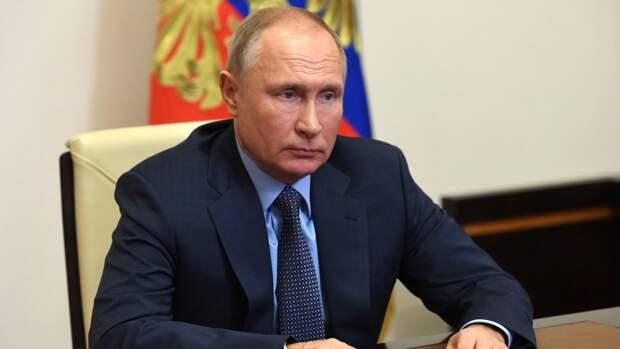 """Путин рассказал о появлении """"анти-России"""""""